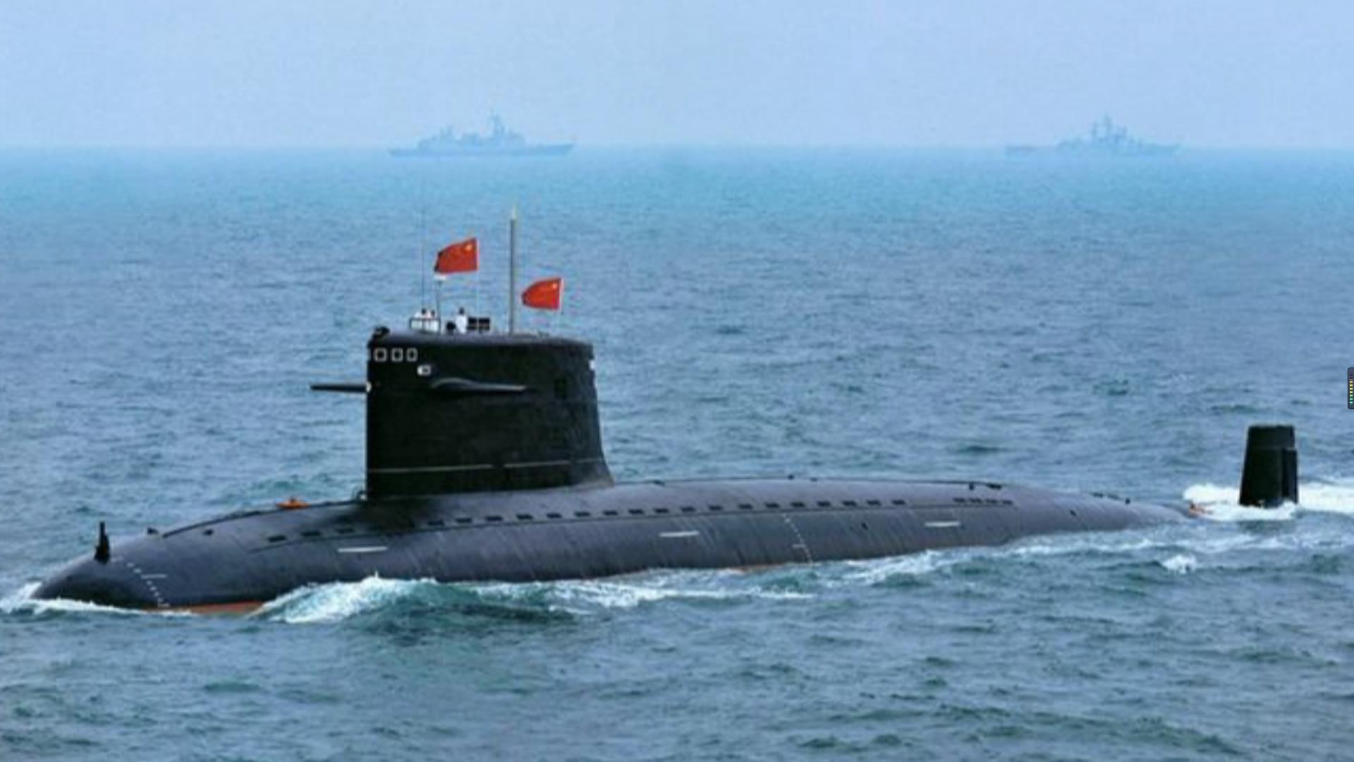 美卫星盯了244天 发现中国第5艘094核潜艇